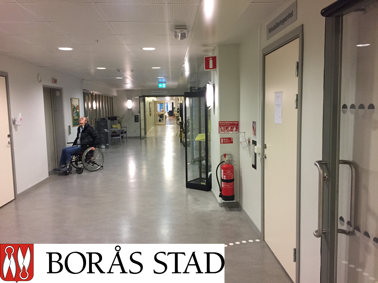 boras - Borås city increases the accessibility of their fire protection with the E-Z Extinguish mobile suspension device.